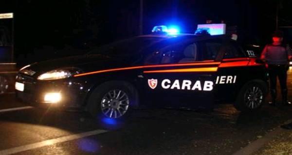 carabinieri inseguimento sera