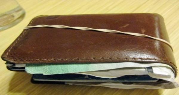 portafoglio pieno ritrovato rubato