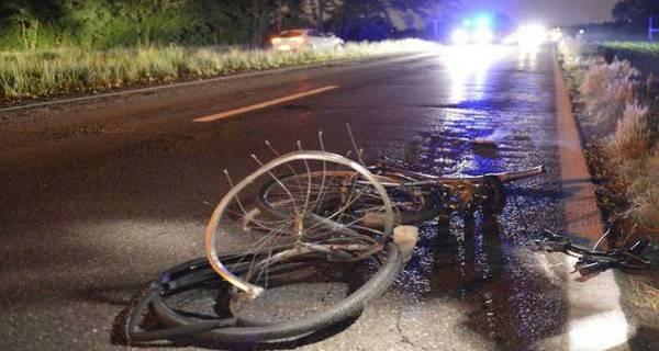 incidente sera bicicletta