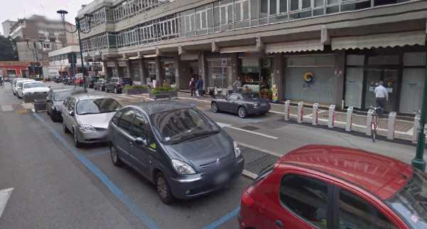 Parcheggi e strisce blu a Mestre