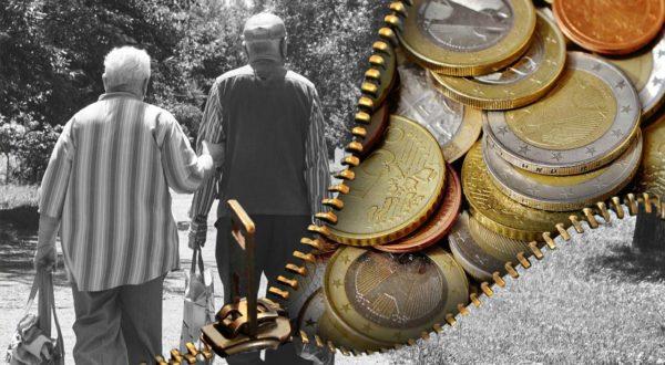 Para staruszków idąca za rękę - Twoja emerytura z IKE i IKZE