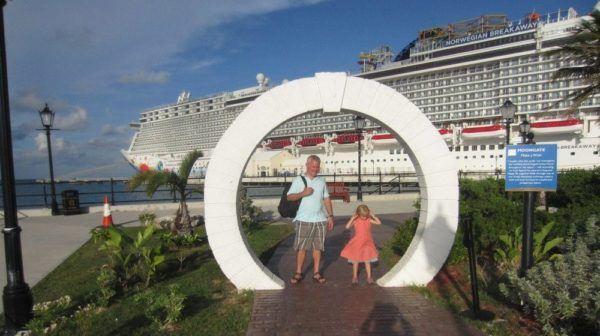 The breakaway in port in bermuda