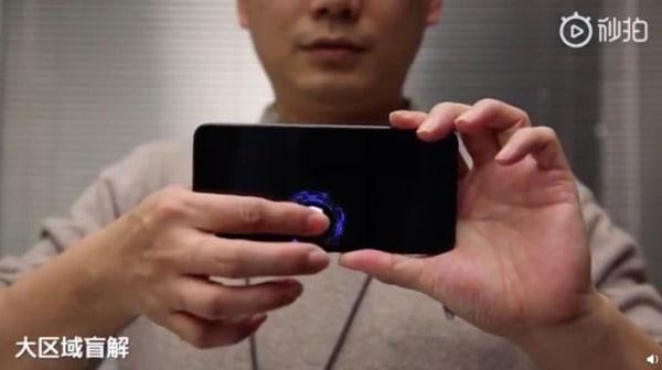 digitais no ecrã