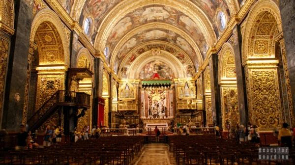 Katedra św. Jana Chrzciciela, La Valletta - Malta