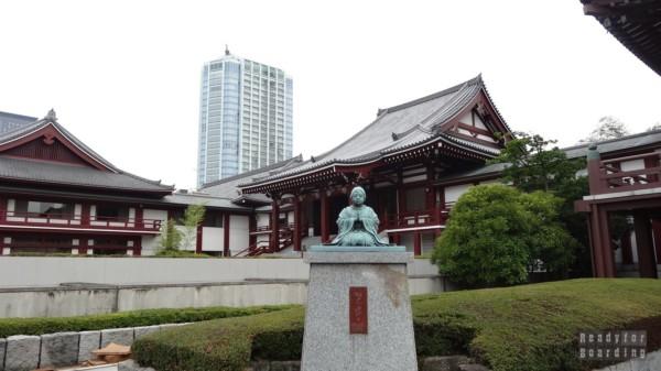 Japonia, Tokio - świątynia