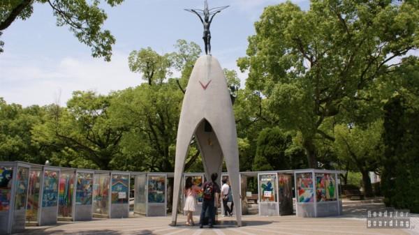 Children's peace monument - Peace Memorial Park, Hiroszima