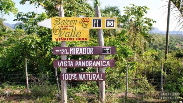 Punkt widokowy pod Vinales, Kuba