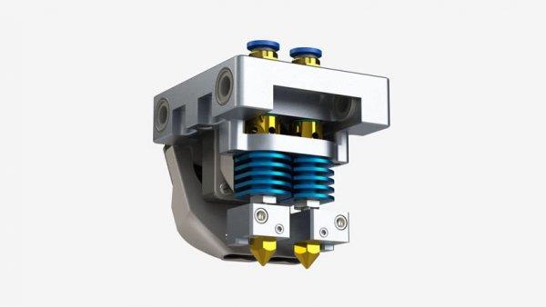 3D принтер CreatBot DE екструдер