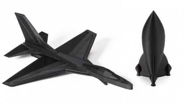 изделия из Carbon Fiber PLA пластик KLEMA