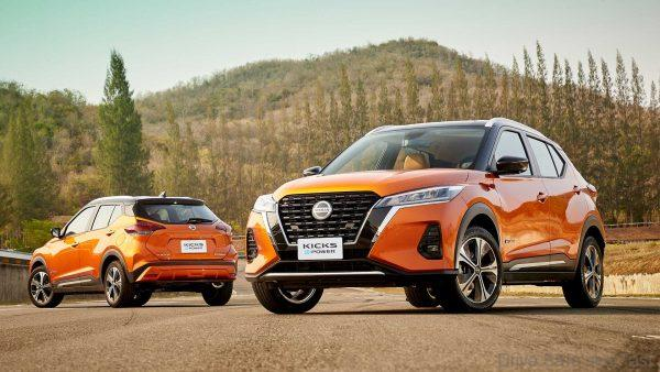 Nissan Kicks E-Power Launch front and rear