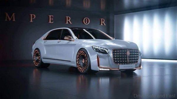EMPEROR Tuned Mercedes-Benz S-Class_white