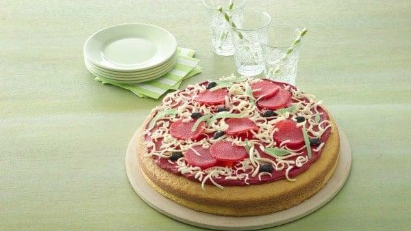 Ninja Turtle Party Pizza Cake