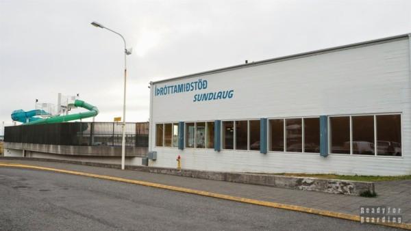 Basen w Borgarnes - Islandia