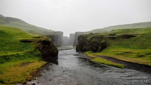 Kanion Fjaðrárgljúfur, Islandia
