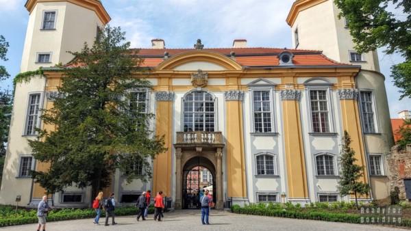 Wejście na przedzamcze, Zamek Książ