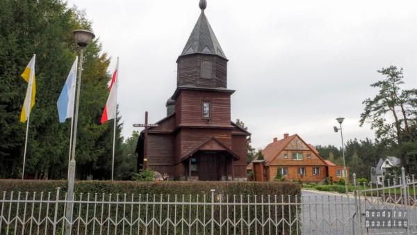 Okolice Augustowa w drodze na Litwę. Giby