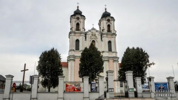 Okolice Augustowa w drodze na Litwę