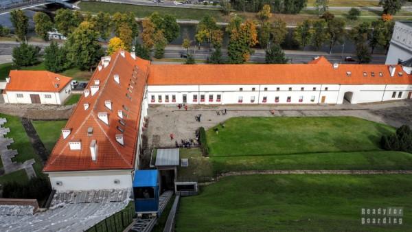 Kolejka na Zamek Górny - Wilno, Litwa