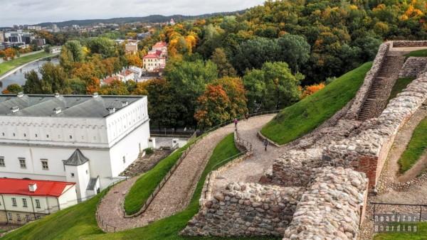 Zamek Górny - Wilno, Litwa