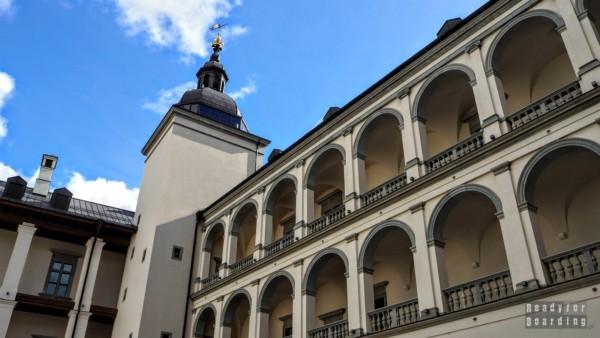 Pałac Wielkich Książąt Litewskich - dziedziniec, Wilno