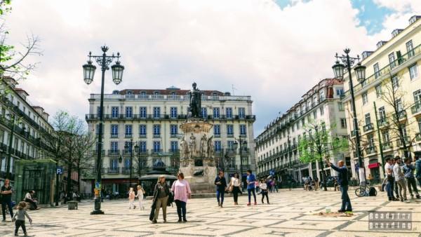 Praça Luís de Camões, Lizbona