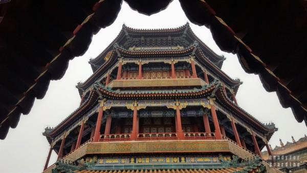 Buddyjska Świątynia Morza Mądrości, Pałac Letni w Pekinie