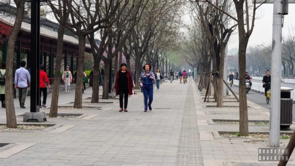 Okolice Summer Palace w Pekinie, Chiny