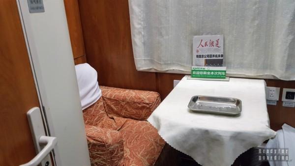 Podróż nocnym pociągiem do Xi'an