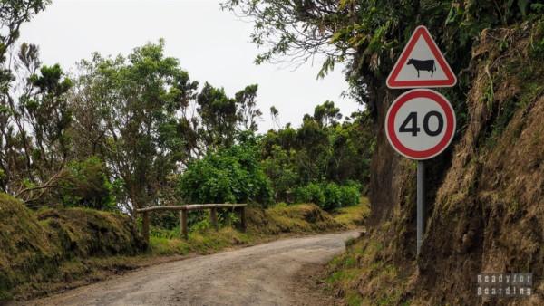 Trasa wokół krateru, Azory