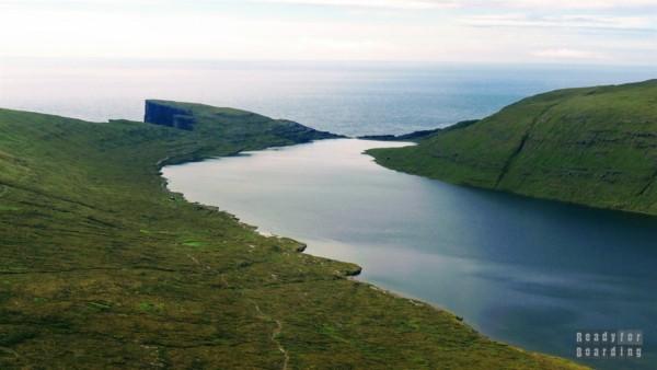 JezioroSørvágsvatn - Wyspy Owcze