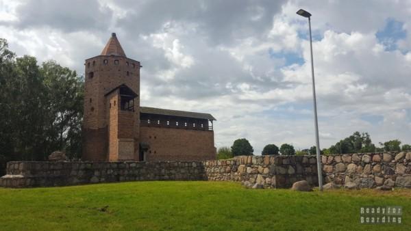 Ruiny Zamku Książąt Mazowieckich w Rawie Mazowieckiej