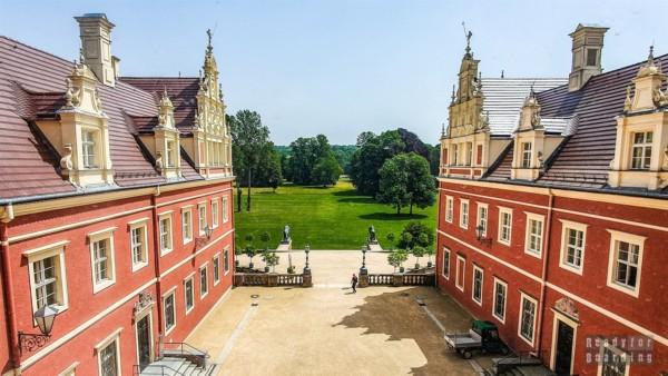 Nowy Zamek, Park w Mużakowie - Saksonia, Niemcy