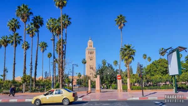 Meczet Koutoubia, Marrakesz - Maroko