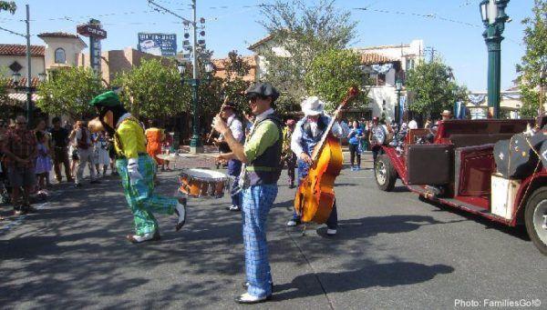 Buena vist street at california adventure park