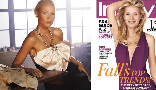 Gwyneth Paltrow in Style magazine