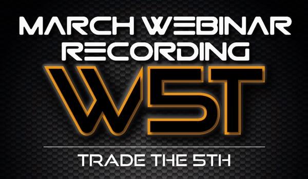 image of W5T march webinar recording header