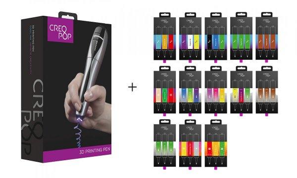 Різновиди картриджів для 3Д ручкиCreoPop