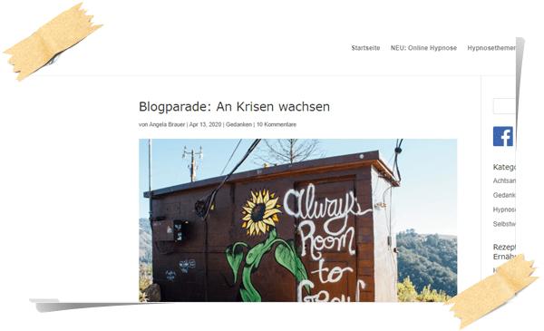 Blogparade Angela Brauer