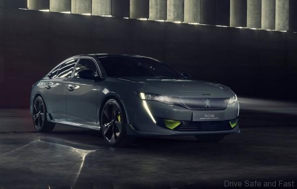 Peugeot Sport Engineered 508 Concept Front
