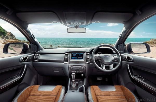 Ford Ranger Wildtrak - Interior dash ASEAN