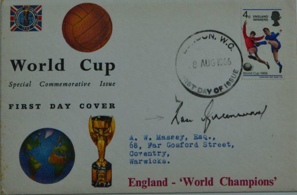 England World Cup World Champions Envelope