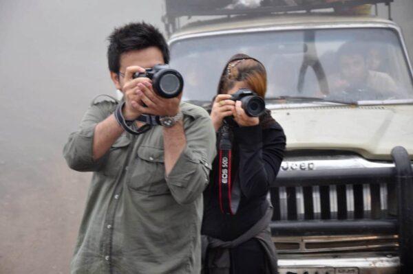 interazioni tra fotografi