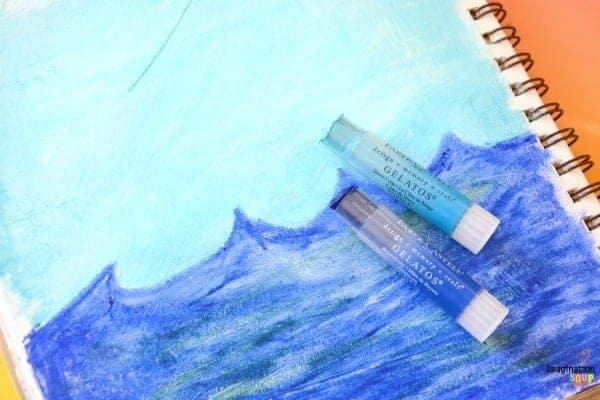 6 Art Journal Backgrounds For Kids