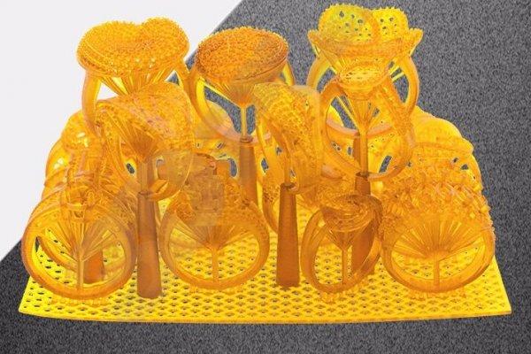 3D принтер SLA печать фотополимерной смолой