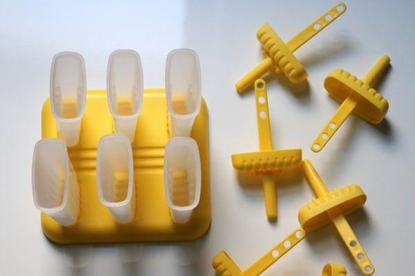 Yellow Popsicle Mold