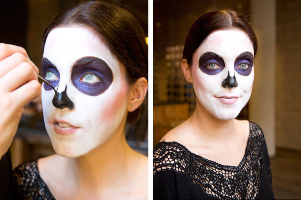 maquillaje-de-esqueleto-para-carnaval-2016-calavera-mexicana-nariz