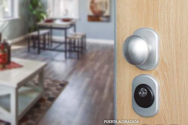 puerta acorazada iron