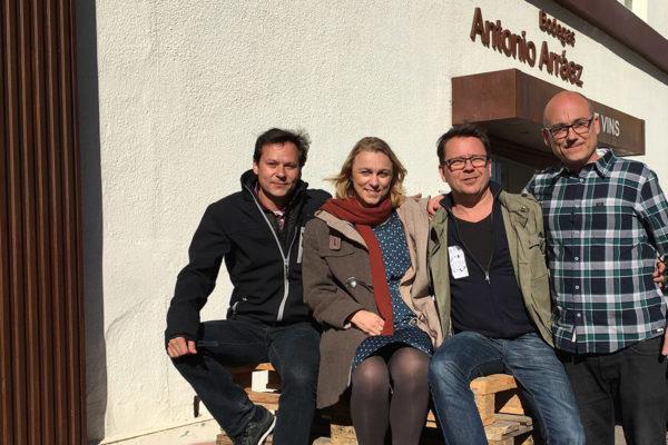 Toni, Gudrun, Guido Pedro – Bodegas Arráez, Valencia