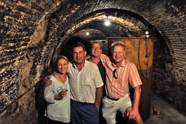 im alten Gewölbekeller