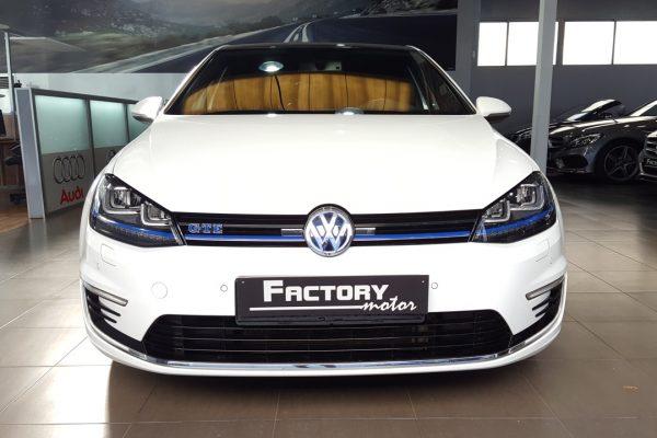 Frontal Volkswagen Golf 1.4 TSI DSG GTE 5p